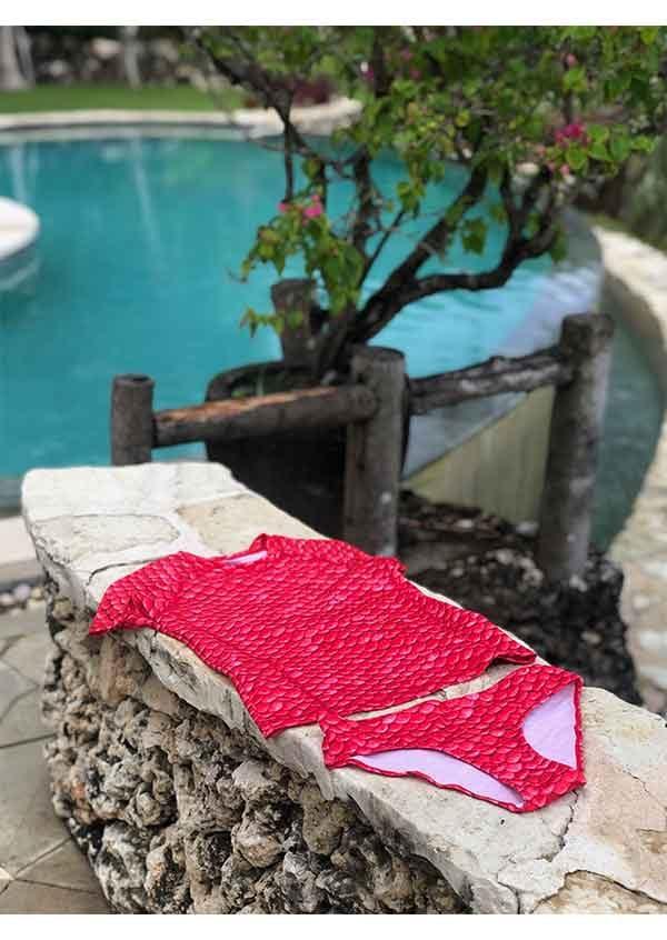 frenzy-mermaids-red-short-sleeves-tankini