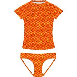 orange-short-sleeves-tankini-frenzy-mermaids