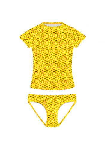 yellow-short-sleeves-tankini-frenzy-mermaids