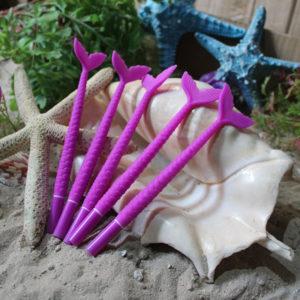 Purple Matte Mermaid Scale Pen